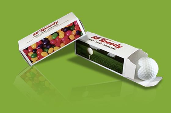 Custom Golf Ball Boxes